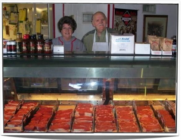 Don and Sally of Don's Meat Shop