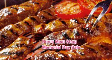 Memorial Day Sale!!